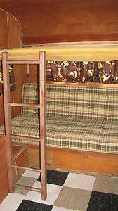 TRAVEL TRAILER VINTAGE '60 KENSKILL 15' SLEEPS 7!! READY TO GO! in RVs & Campers | eBay Motors