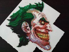 The Joker hama perler bead sprite by pjurst