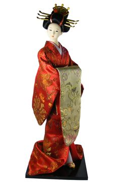 16'' Geisha Doll...I have 2 of these type dolls...They are so beautiful