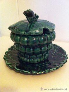 Ceramica Nijar Almeria O Manises Conjunto Tetera Con