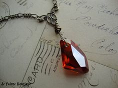 SORCERER'S STONE II - Wizard Inspired Philosopher's Stone Necklace