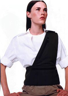 shoulder-vest. This would work well for traveling