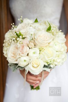 Bridal Bouquet Oth Studio Blush Peonies Lily Of The Valley