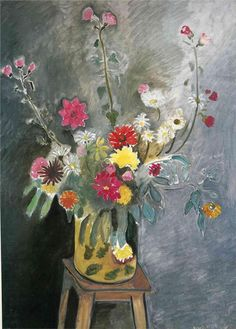 Bouquet of mixed flowers, 1916-1917			  Henri Matisse