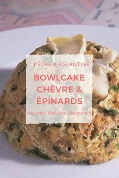 Bowlcake chèvre-épinards - Pêche & Églantine #bowlcake #healthymeal #repas_sain #idéerecette #bowlcakesalé #recettesaine #végétarien