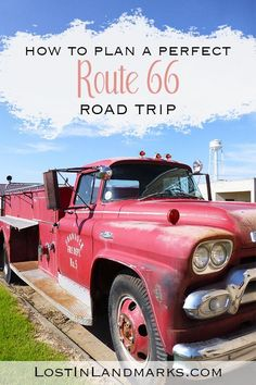 Ultimate Route 66 planner - all your road trip questions answered! - Lost In Landmarks - Ultimate Route 66 planning guide with all your questions answered! From itinerary planning to booki - Route 66 Road Trip, Travel Route, Us Road Trip, Road Trip Hacks, Usa Travel Guide, Travel Usa, Travel Tips, Route 66 Planner, Historic Route 66