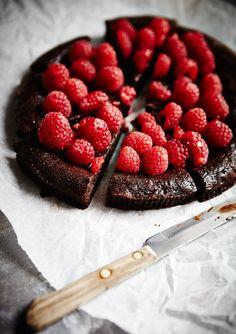 Chocolate Raspberry Cake 1
