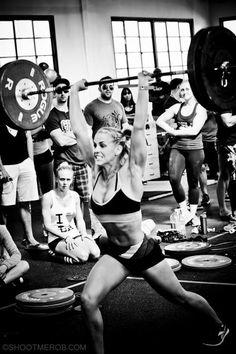 CrossFit split jerk