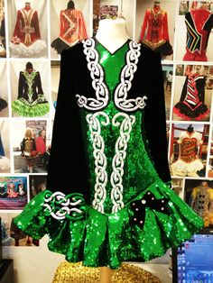 Green... think I prefer not sequence tho... Gavin solo dress