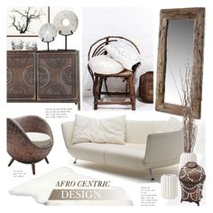 """Afro Centric Design"" by revan ❤ liked on Polyvore featuring interior, interiors, interior design, home, home decor, interior decorating, UGG Australia, Cyan Design and Pier 1 Imports"