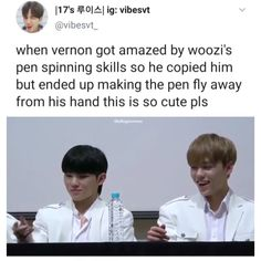 Vernon Seventeen, Joshua Seventeen, Seventeen Memes, Seventeen Woozi, 17 Kpop, Vernon Hansol, Images Gif, All About Kpop, Seventeen Wallpapers