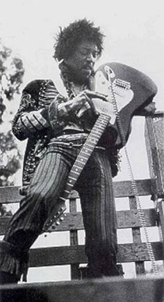 """Jimi Hendrix San Francisco, """"Panhandle'/'Golden Gate Park"""", California Concert (45 minutes), free show on the back of a lorry."""
