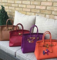Hermes handbags collection http://www.justtrendygirls.com/hermes-handbags-collection/
