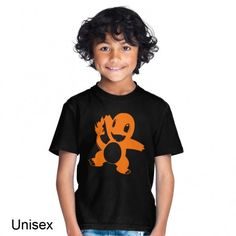 This Charmander Children's T-shirt makes a perfect gift! Available in a variety of colours and sizes at an unbeatable price and quality. Pokemon T, Charmander, Cute Tshirts, Unisex, T Shirts For Women, How To Wear, Fashion, Moda, Fasion