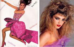 | The 1980's fashion can be seen as a mixture from very diverse styles.