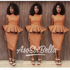 the Ankara fabric can be fresh it all depends on how you style it. Below we've got some incredible Ankara church outfit ideas that would inspire your African Attire, African Wear, African Women, African Dress, African Clothes, African Style, Latest Aso Ebi Styles, Trendy Ankara Styles, Kente Styles