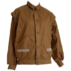 c8e9c91868b91b Daniel Hechter Coat   Outerwear - Mustard Net On Pockets Cotton Jacket -  Cotton