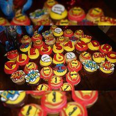 Ironman cupcakes