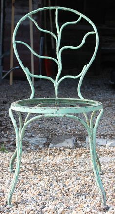 Alberto Giacometti' for Jean Michel Frank Wrought Iron Garden Chair 2 Garden Benches, Garden Chairs, Alberto Giacometti, Stylish Chairs, Patio Seating, Jean Michel, Fashion Books, Wrought Iron, Side Chairs