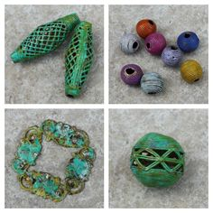 Art Bead Scene Blog: Patina Ideas - Tutorial