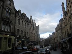 Cockburn Street, Edinburgh, Scotland