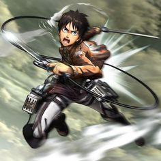 Shingeki no Kyojin Eren: Attack on Titan wings of freedom game Armin, Mikasa, Eren Aot, Ereri, One Punch Man, Doraemon, Sailor Moon, Attack On Titan Game, Shingeki No Kyojin