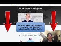 (14) How to Make Wordpress QUIZ FAST - Thrive Quiz Builder - YouTube