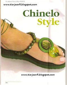 PASO A PASO CON JEANNINE sandalias decoradas