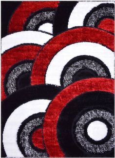 34 Best Red Black And White Area Rugs Images White Area Rug