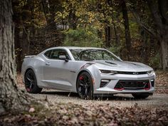 More aggressive looks courtesy of an optional Redline Edition package backup the performance of the Chevy Camaro SS. - Page 6 Chevrolet Silverado, Chevy Ss, 2018 Camaro Ss, Camaro Car, Corvette, Cummins, Muscle Cars, Lux Cars, Sport Cars