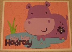 Cricut Create a critter cards