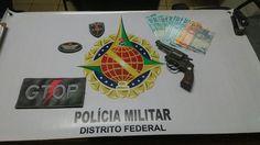 Foto: PMDF/internet/reprodução.     Nesta madrugada (16), por volta das 0h, policiais do Grupo Tát...