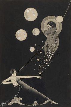 Illustration by Cardwell Higgins via { feuilleton }