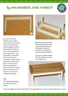 miniature dollhouse furniture woodworking. Making A Mini Rustic Farmhouse Table | Miniature, Minis And Miniature Dollhouse Furniture Woodworking