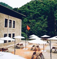 Beautiful breakfast wiev in Tasmektep Hotel. http://www.camlihemsintasmektep.com