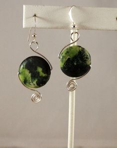 Swirl wrapped Stones by DelightfullyTwisted on Etsy, $20.00