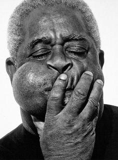 fot. Herb Ritts, Dizzy Gillespie, Paris, 1989