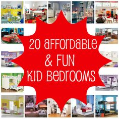 affordable kids rooms.