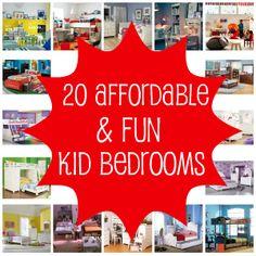 affordable kids rooms.