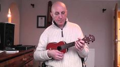 The Third Man -  strumming the chords on the ukulele