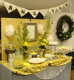 Yellow and Black Party