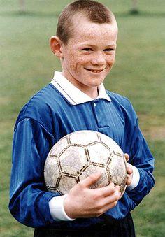 Young Wayne Rooney
