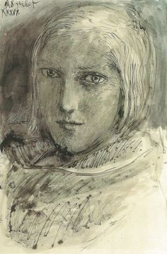 ALONGTIMEALONE: Portrait of Marie-Therese Walter by Pablo Picasso,...