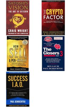 Here are some books I wrote. They are great for entrepreneurs, businesses, and sales people alike. Craig Wright, Entrepreneurship, My Books, Success, Advice, Kit