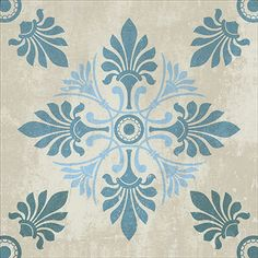 Textile Pattern Design, Textile Patterns, Artistic Tile, Hand Painted Walls, Stencil Patterns, Motif Floral, Dot Painting, Tile Art, Islamic Art