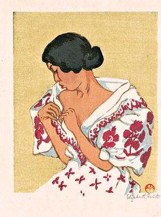 (Philippine) Philippine woman, 1930 by Elizabeth Keith (Scotland, Philippine Women, Philippine Art, Filipino Art, Filipino Culture, Cartoon Images, Cute Cartoon, Filipino Fashion, Art Exhibition Posters, Night Sky Wallpaper