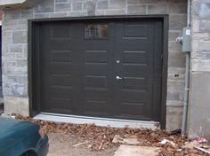 Portes de garage en acier - Portes Bourassa