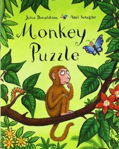 Monkey Puzzle by Julia Donaldson et al. Another new birthday book. 30/03/14. #300PBs