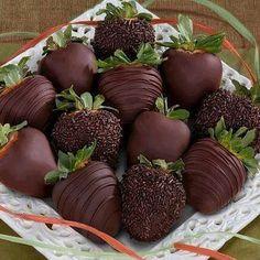 #chocolate #strawberries #scrumptious