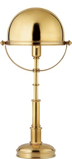 CARTHAGE TABLE LAMP by Circa Lighting/Ralph Lauren Home.  638.00 retail (depending on finish).  I'm quite smitten with this!!